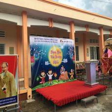 Global Malls đồng hành mang trung thu ấm áp cho trẻ em Trà Vinh