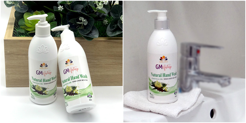 tinh chất rửa tay gmnature 100% natural