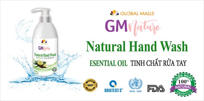 tinh chất rửa tay thiên nhiên